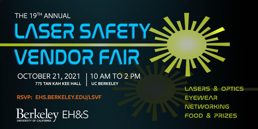 2021 Laser Safety Vendor Fair