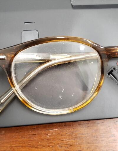 Scratched Prescription Glasses