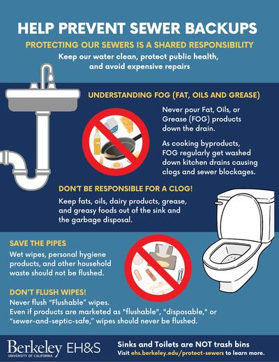 Sewer Overflow Protection Outreach Flyer